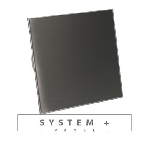 Панель Awenta System+ Trax PTGB 100M - Black Matte Glass