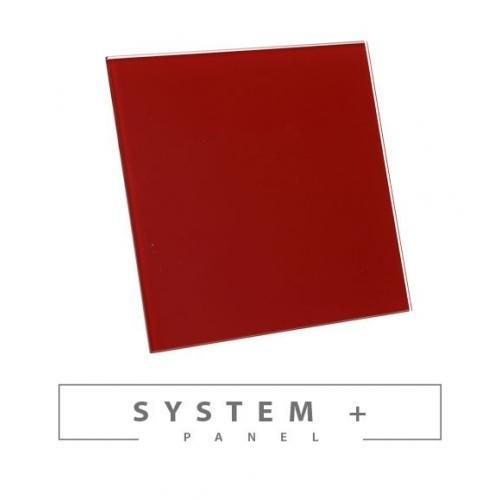 Панель Awenta System+ Trax PTGR 100P - Red Glossy Glass