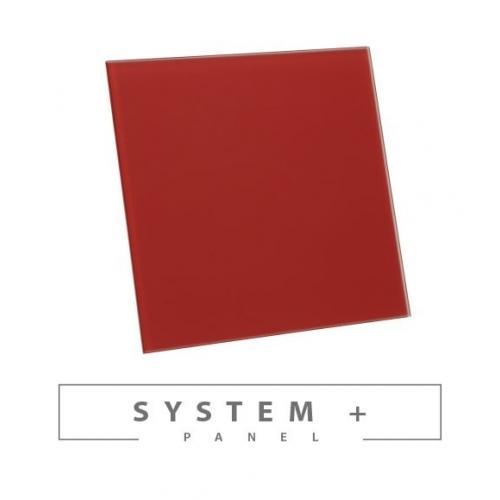 Панель Awenta System+ Trax PTGR 100M - Red Matte Glass