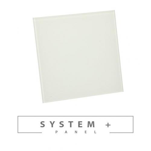 Панель Awenta System+ Trax PTG 100 - White Glass