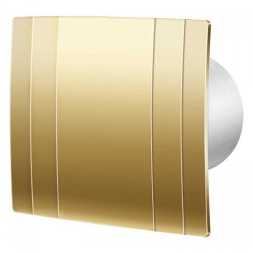 Декоративный вытяжной вентилятор Blauberg QUATRO Hi-tech Gold 100