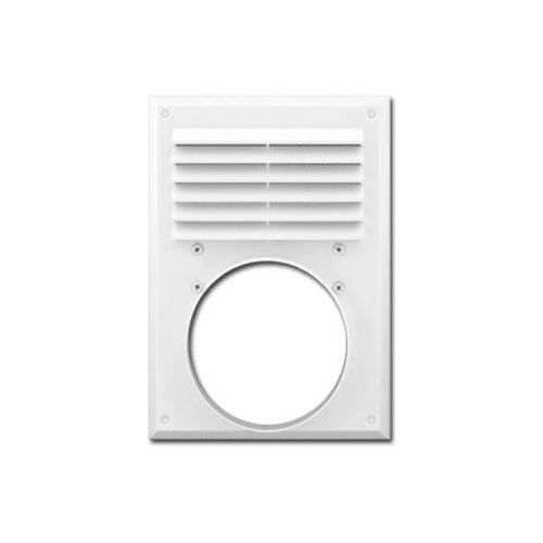 Вентиляционная решетка с сеткой 240x180/d120
