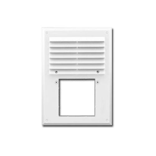 Вентиляционная решетка с сеткой 240x180/d90