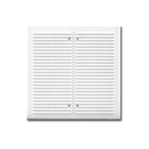 Вентиляционная решетка с сеткой 350x350
