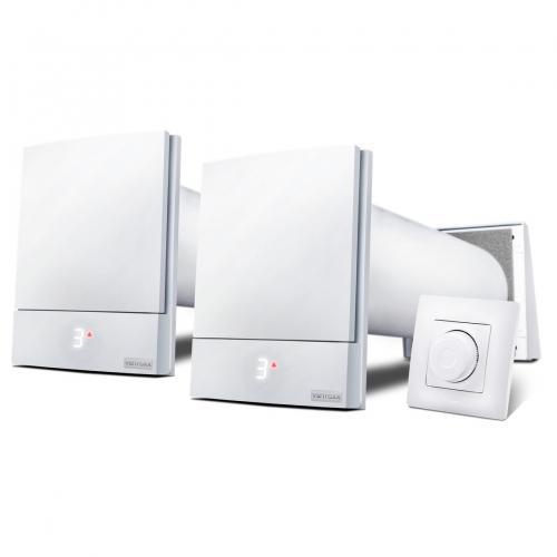 Комплект 2 Ventoxx Harmony с управлением Twist с внешней крышкой, воздуховод 0,75м