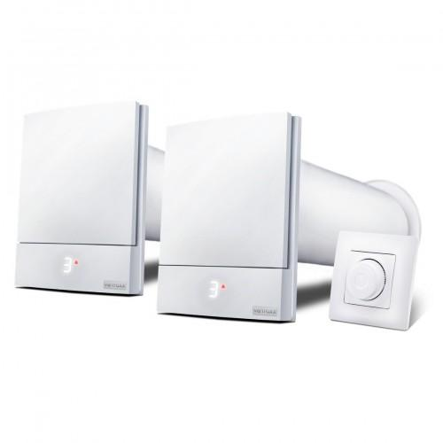 Комплект 2 Ventoxx Harmony с управлением Twist, воздуховод 0,5м