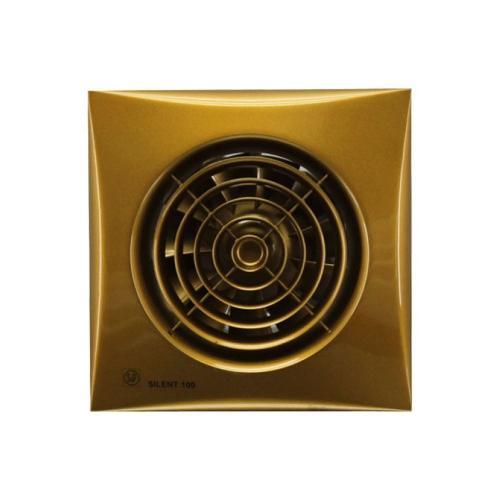 Бесшумный вентилятор Soler & Palau SILENT 100 CZ Gold