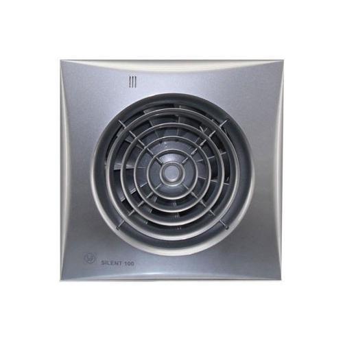 Бесшумный вентилятор Soler & Palau SILENT 100 CZ Silver