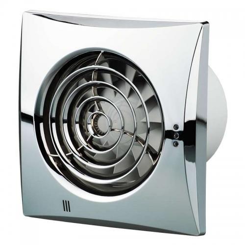 Вентилятор Вентс 100 Квайт хром