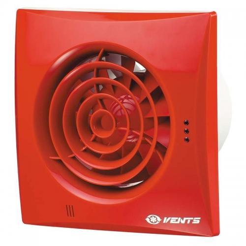 Вентилятор Вентс 100 Квайт красный (RAL 3013)