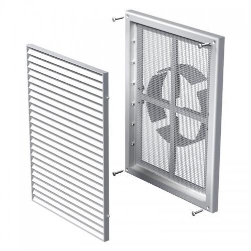 Вентиляционная решетка Вентс МВ 160 ВДМс