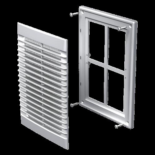 Вентиляционная решетка Вентс МВ 126 Мс