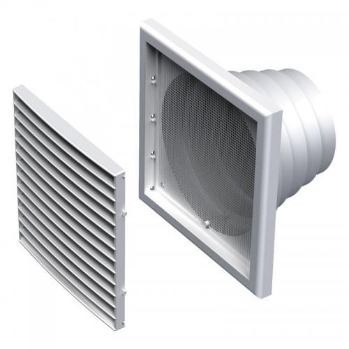 Вентиляционная решетка Вентс МВ 121 ВНс