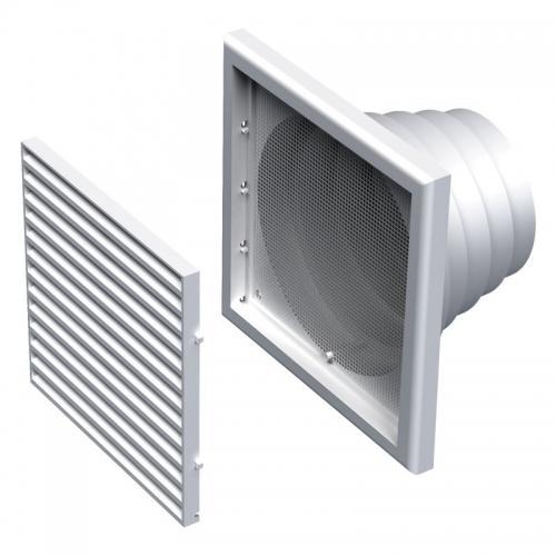 Вентиляционная решетка Вентс МВ 120 ВНс
