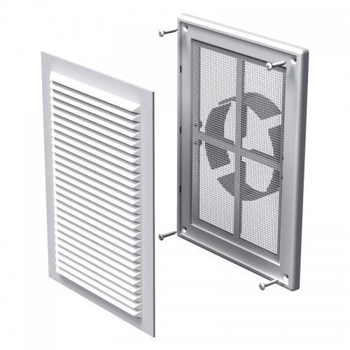 Вентиляционная решетка Вентс МВ 125 ВДМс