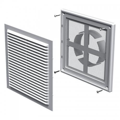 Вентиляционная решетка Вентс МВ 150 ВДс