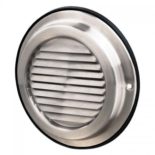 Вентиляционная решетка Вентс МВМ 100 б Н из нержавейки