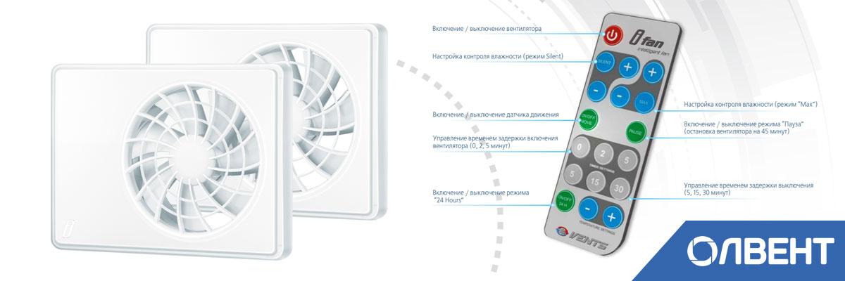 вентилятор настенный с пультом управления