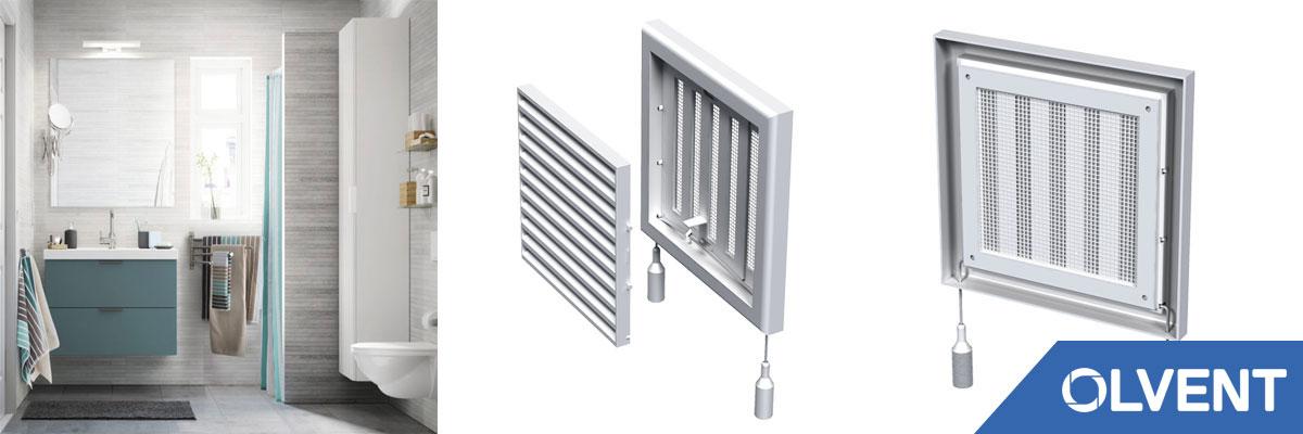регулируемые решетки для вентиляции