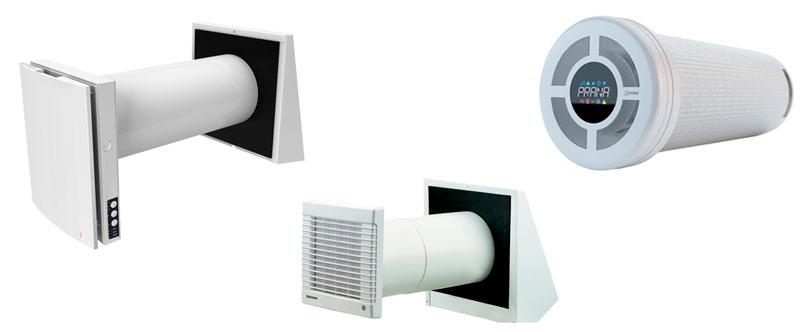 подбираем дизайн бытового рекуператора воздуха