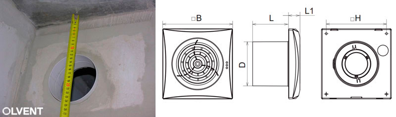 Подбираем правильно размер вытяжного вентилятора