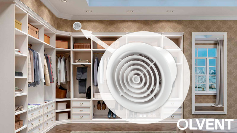 как подобрать вытяжной вентилятор в гардеробную