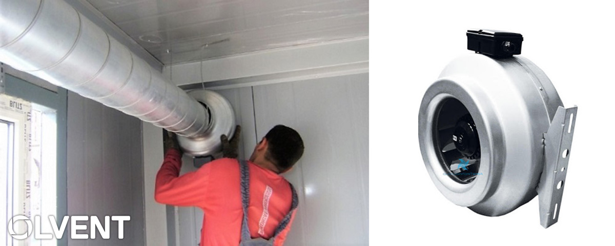 как выбрать круглый канальный вентилятор
