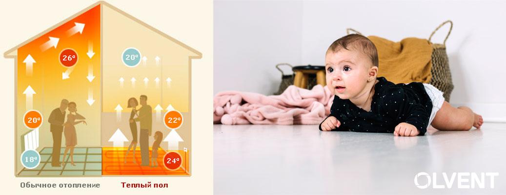 почему стоит выбрать теплый пол как систему отопления