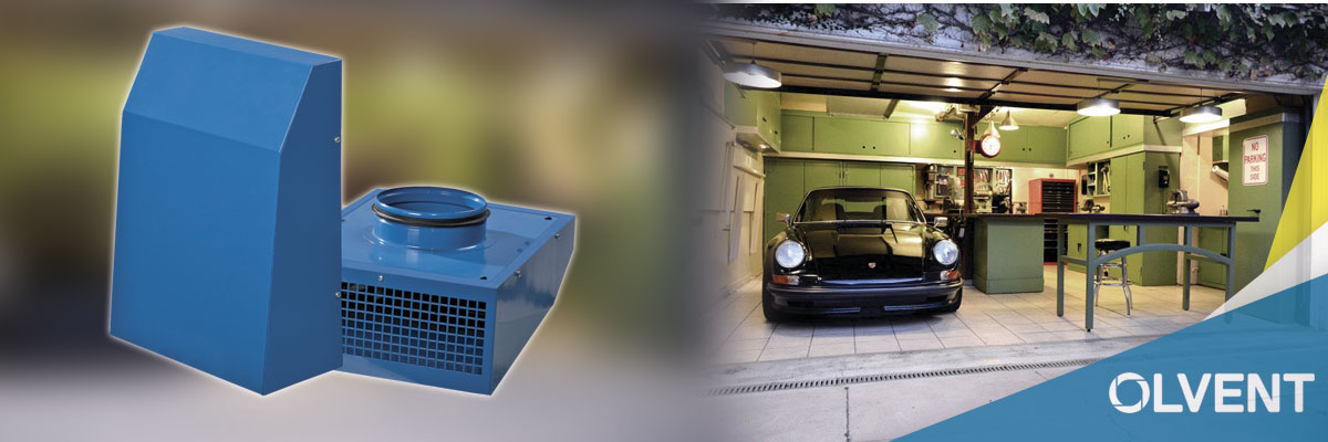 вытяжка в гараж с автомобилем