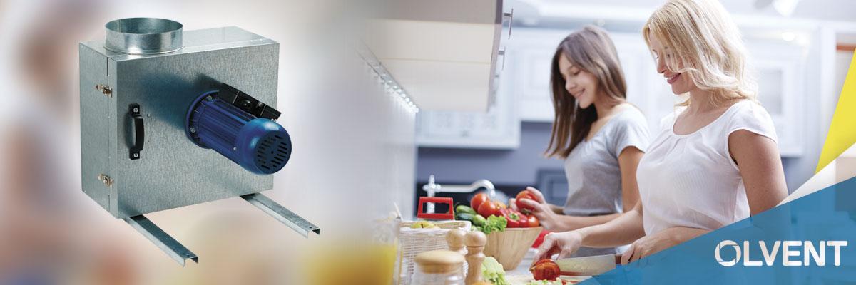 вентилятор улитка для вытяжки на кухне частного дома
